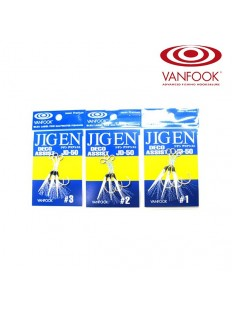 VANFOOK JD-50 Jigen Deco Assist Hooks