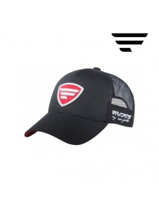FAVORITE Cap Black Red Logo