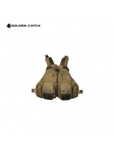 Golden Catch Fishing Vest Beige